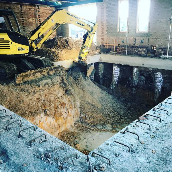 Commercial excavations